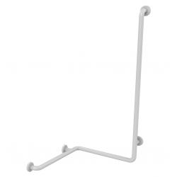 Barre de douche blanche verticale Presto