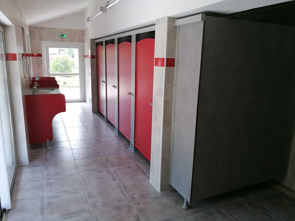 rénovation blocs sanitaires standards fermés sud-est